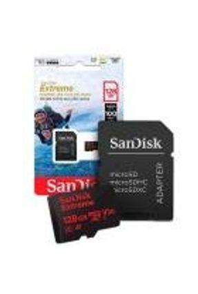 Cartão de Memoria. 128gb Micro Sd Cl10 100Mb/s Extreme SDSQXAF Sandisk