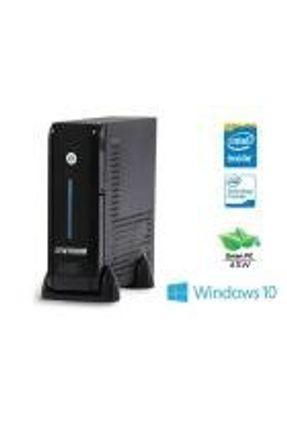 Computador INTEL Windows Centrium Ultratop INTEL Dualcore J3060 1.6GHZ 4GB 500GB 2XSERIAL WIN10PRO