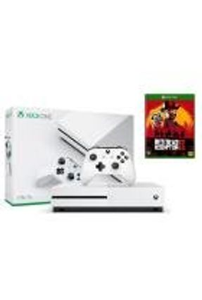 Console Xbox One S 1TB com Jogo Red Dead Redemption 2
