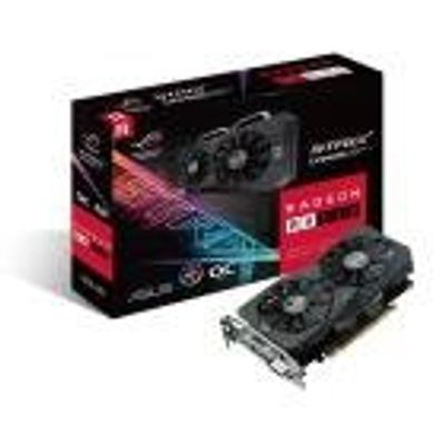 Placa de Video ASUS Radeon RX 560 4GB ROG STRIX OC Edition DDR5 128BITS - ROG-STRIX-RX560-O4G-GAMING