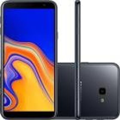 "Smartphone Samsung Galaxy J4+ 32GB, Dual, 6"", Câmera 13MP, 5MP LED, 2GB RAM, Android 8.1, Preto"