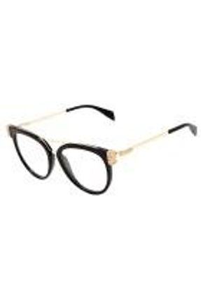 0Moschino Mos023 S - Óculos De Sol 2m2 99 Preto E Dourado Bri