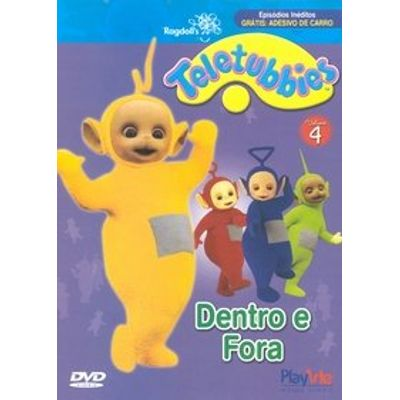 Teletubbies - Dentro e Fora - Volume 4 - DVD4