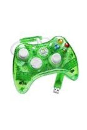 Xbox 360 - Controle com fio Rock Candy Verde