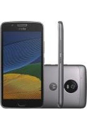Smartphone Moto G 5 Dual Chip Android 7.0 Tela 5 Polegadas  32gb 4g Câmera 13mp - Platinum