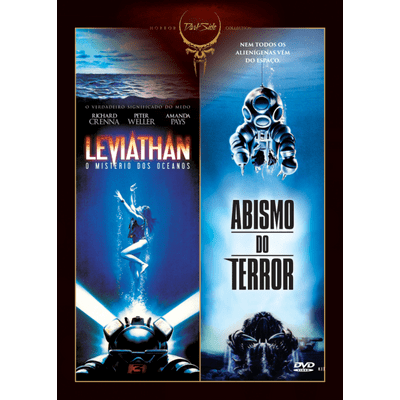 DVD Dark Side Horror Collection 7 - Leviathan o Mistério Dos Oceanos + Abismo do Terror - 2 Discos