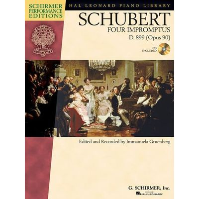 Schirmer Performance Editions - Four Impromptus , D. 899 (op. 90)