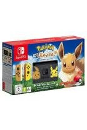 Console Nintendo Switch 32GB Bundle Pokemon Lets Go Eevee