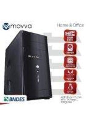 Computador Lithium AMD RYZEN 5 2400G 3.6GHZ Memoria 8GB HD 500GB HDMI/VGA/DVI-D Linux Fonte 200W - MVLIR5A3205008
