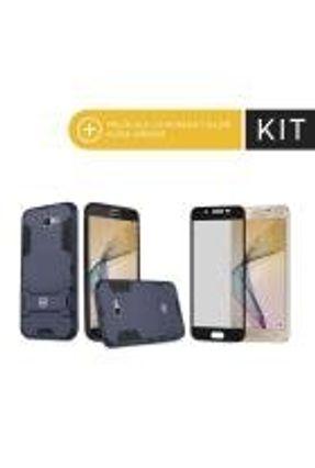 Kit Capa Armor e Peli´cula Coverage Preta para Galaxy J5 Prime - Gorila Shield