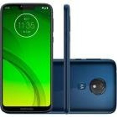 "Smartphone Motorola Moto G7 Power 64GB 4GB OctaCore 1.8GHz 6.2"" 12MP Bateria 5000mAh Android 9.0 Azul Navy"