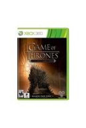 Jogo Game of Thrones: A Telltale Games Series (Season Pass) - Xbox 360