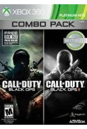 Xbox 360 - Call Of Duty Black Ops I Call Of Duty Black Ops II Combo Pack
