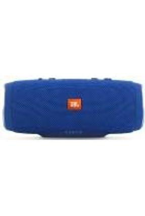 Caixa De Som Portátil Charge 3 Azul - JBL