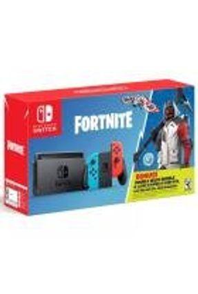 Console Nintendo Switch 32GB Colorido Fortnite Bundle