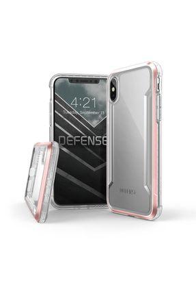 Capa para Iphone X Xs X-Doria Defense Shield Clear Rosa Ouro Original Anti Impacto Teste Militar