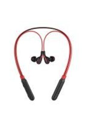 Fone de Ouvido Bluetooth Sem Fio Com Microfone Super Bass Hi-Fi estéreo 3D 100 horas Encok E16 Vermelho
