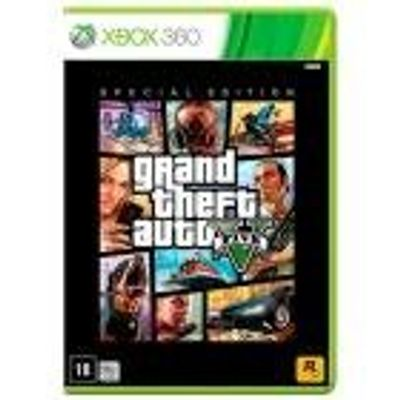 Jogo Grand Theft Auto V (Special Edition) - Xbox 360