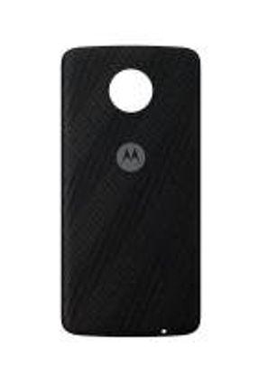 Moto Snap Motorola Style Shell, Capa Traseira para Moto Z e Moto Z2, Nylon Preto