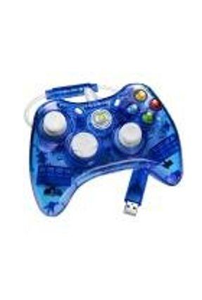 Xbox 360 - Controle com fio Rock Candy Azul