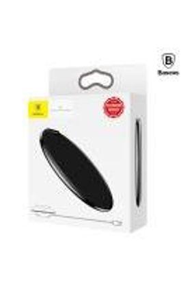 Carregador Sem Fio QI para Iphone Samsung  Baseus iX  Couro Wireless Charger