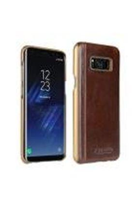 Capa Samsung Galaxy S8 Plus Original Pierre Cardin Couro Marrom Escuro