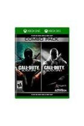 Jogo Call of Duty: Black Ops 1 + Call of Duty: Black Ops II (Combo Pack) - Xbox 360
