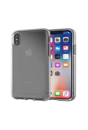 Capa iPhone X Xs Pure Clear Tech21 Military Grade Drop Com Película De Vidro 3D Tela Inteira Premium