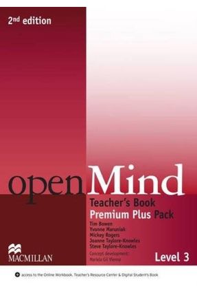 Openmind 2Nd Edition Teacher's Book Premium Pack-3 (New) - Rogers,Mickey Taylore-knowles,Joanne   Hoshan.org