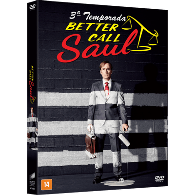 DVD Better Call Saul - 3ª Temporada - 3 Discos