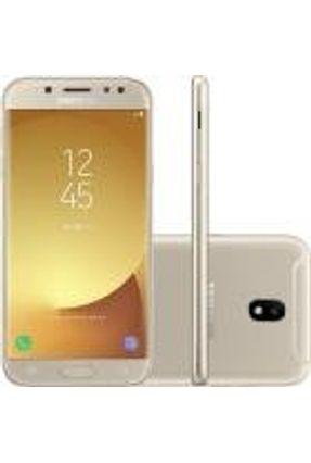 Smartphone Samsung Galaxy J5 Pro Dual Chip Android 7.0 5,2 Octacore 1.6ghz 32gb 4g Cam13mp Dourado