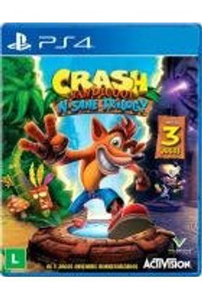 PS4 - Crash Bandicoot N. Sane Trilogy