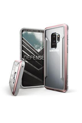 Capa para Galaxy S9 Plus X-Doria Defense Shield Rosê Anti Impacto Drop Test Militar