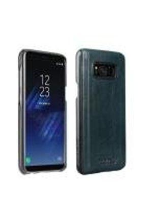 Capa Samsung Galaxy S8 Plus Original Pierre Cardin Couro Genuíno Verde Escuro