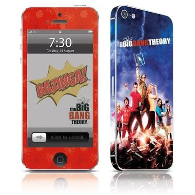 Adesivo Para Celular The Big Bang Theory - Para iPhone 5