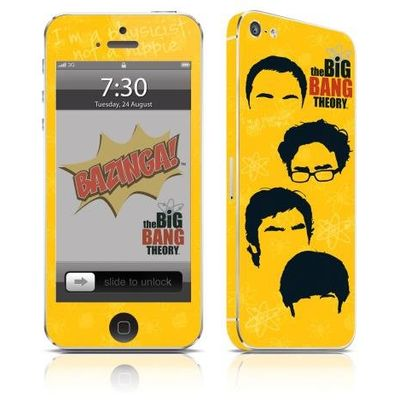 Adesivo Para Celular The Big Bang Theory Icons - Para iPhone 5