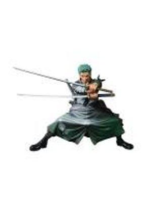 Action Figure Roronoa Zoro (Scultures Big Zoukeio Shining Color ver.) One Piece - Banpresto