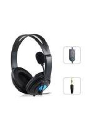 Fone Headset Gamer Para Playstation 4 Ps4 Com Microfone Cabo P3