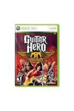 Jogo Guitar Hero: Aerosmith - Xbox 360