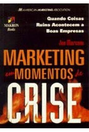Marketing Em Momentos de Crise