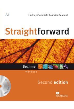 Straightforward Begginer - Workbook With Audio CD - Without Key - 2 Ed. - Macmillan Macmillan   Nisrs.org