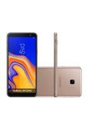 Smartphone Samsung Galaxy J4 Core 16GB Cobre - Dual Chip 4G - Quad Core 1GB RAM Tela 6'' - Câm. 8MP + Selfie 5MP
