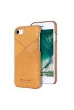 Capa Iphone 7/8 100% Original Pierre Cardin Couro Premium Amarelo