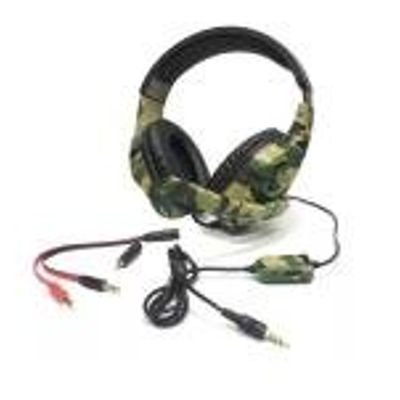 Fone De Ouvido Headphone Gamer - Pc Ps4 Xbox 360 One Nintendo - Camuflado