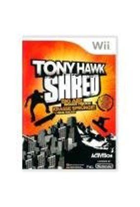 Jogo Tony Hawk: Shred - Wii