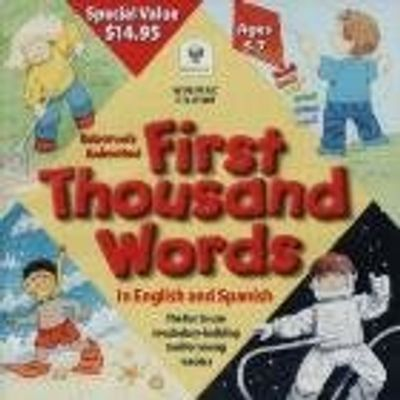 Usborne´S Anim. First Thousan Words Cd-Rom (Engl/Spanish)