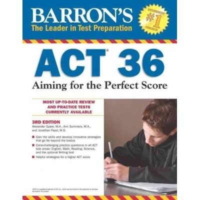 Barron's ACT 36 - Aiming For The Perfect Score