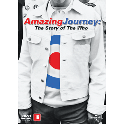 DVD Amazing Journey - The Story Of The Who - 2 Discos