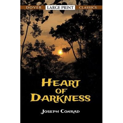 Dover Large Print Classics - Heart Of Darkness*