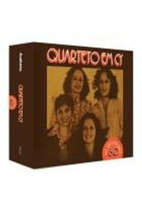 Cd Quarteto em cy ao Vivo Nos Anos 80 - (box 4 Cds)